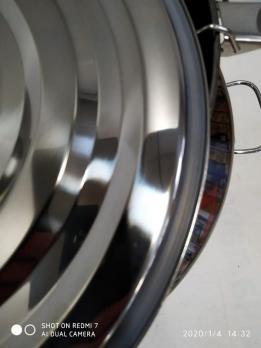 Бидон 27 литров (нержавеющая сталь)