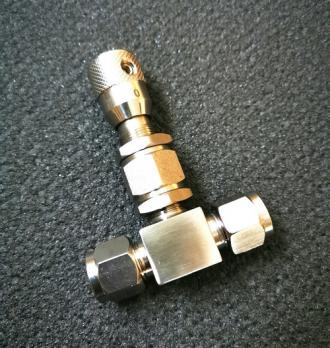 """Кран игольчатый """"Высокоточный"""" 8 мм (AISI 304)"""