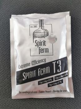 Дрожжи спиртовые Spirit Ferm T3