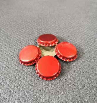 Кронен пробка, тип венчика КПЕ-1 (26мм) Красная